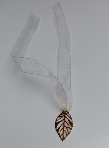 Gold Leaf Napkin Ties 10pk